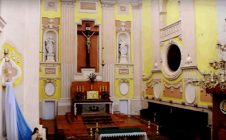 Старе місто — Луцьк, костел Святих Петра і Павла