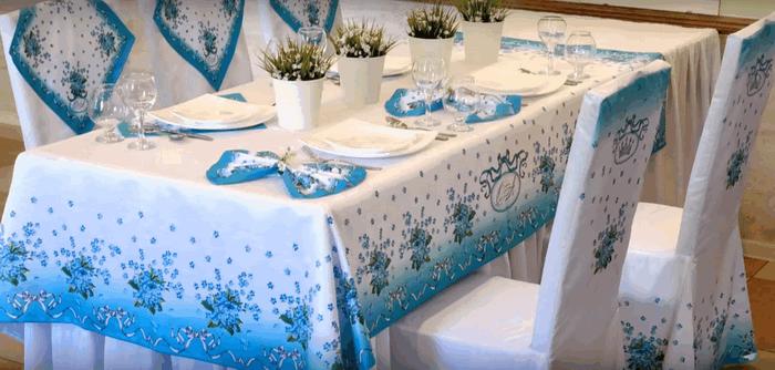Столова білизна: святковий прийом гостей