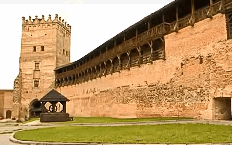 Старе місто — Луцьк, замок Любарта
