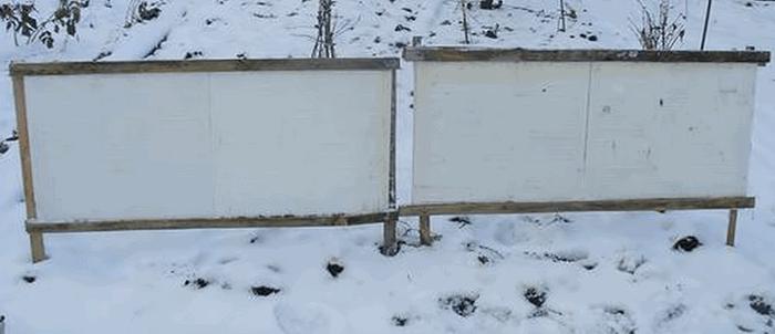 Як затримати сніг на ділянці
